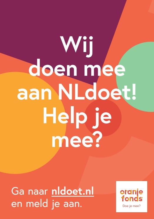 NL Doet: aanpak buitenruimte bij Lokaal-O